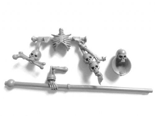 Skeleton Warrior Banner Arm & Banner